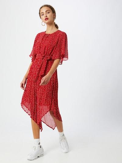 Pepe Jeans Kleid 'PILUCA' in rot / weiß, Modelansicht