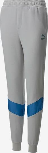 PUMA Sporthose in blau / grau: Frontalansicht
