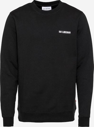 Han Kjøbenhavn Sweatshirt in de kleur Zwart / Wit, Productweergave