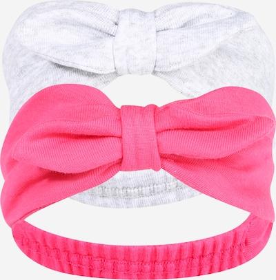 PETIT BATEAU Stirnband in graumeliert / pink, Produktansicht