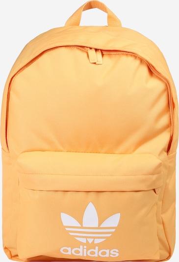 ADIDAS ORIGINALS Rucksack in hellorange / weiß, Produktansicht