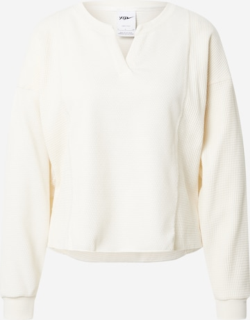 NIKE Αθλητική μπλούζα φούτερ σε λευκό