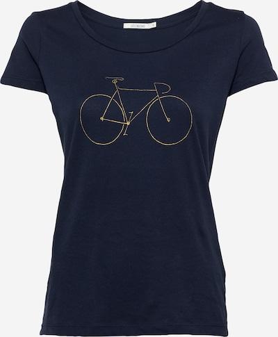GREENBOMB Shirt 'Golden Bike' in navy / gold, Produktansicht