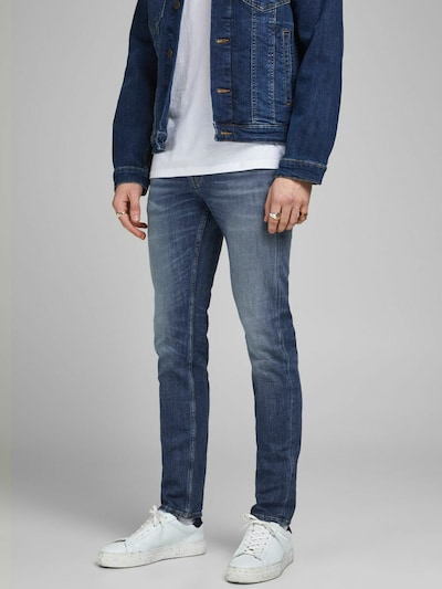 JACK & JONES Jeans 'Tim' in dunkelblau, Modelansicht