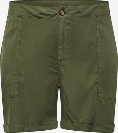 Zizzi Shorts  'TAMMY' in khaki, Produktansicht