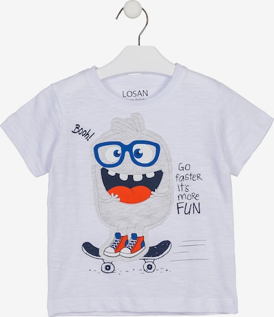 LOSAN T-Shirt in weiß, Produktansicht