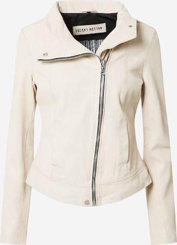 FREAKY NATIONPrijelazna jakna 'Klea' - bijela boja