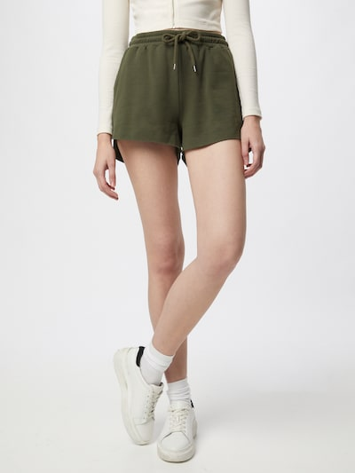 ABOUT YOU Shorts 'Mimi' in khaki, Modelansicht
