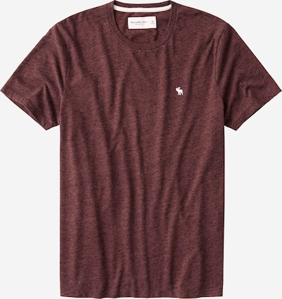 Abercrombie & Fitch Shirt in burgunder, Produktansicht