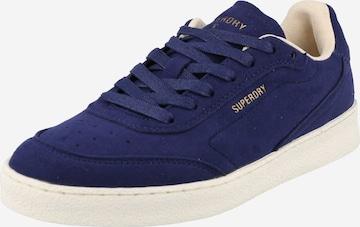 Sneaker low de la Superdry pe albastru