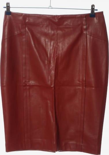 ZARA Kunstlederrock in L in rot, Produktansicht