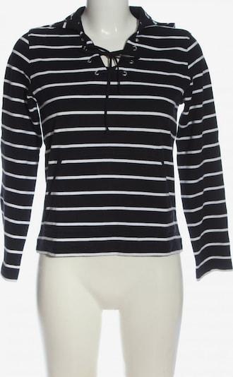 Marks & Spencer Kapuzensweatshirt in S in schwarz / weiß, Produktansicht