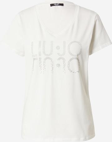 T-shirt LIU JO JEANS en blanc