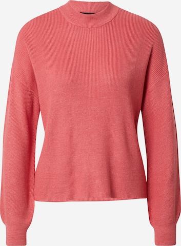 VERO MODA Sweater 'NEW LEXSUN' in Pink