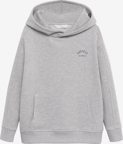 MANGO KIDS Sweatshirt 'Mattia' in grau / schwarz, Produktansicht