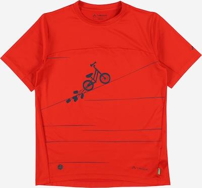 VAUDE Shirt 'Kids Solaro T-Shirt II' in knallrot, Produktansicht