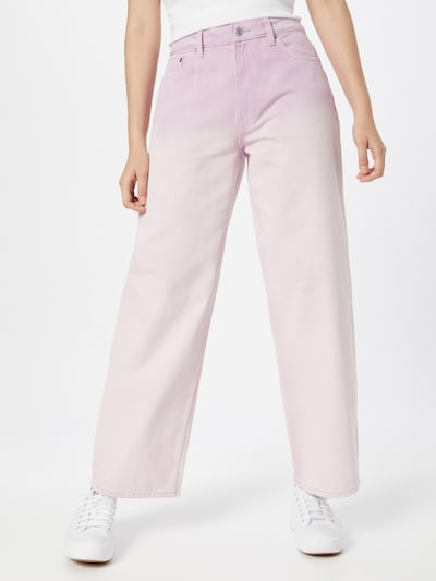 WEEKDAY Jeans 'Expand' in mauve, Modelansicht