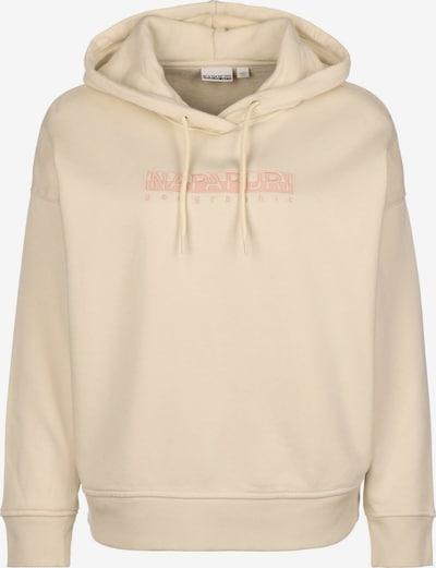 NAPAPIJRI Sweatshirt in beige, Produktansicht