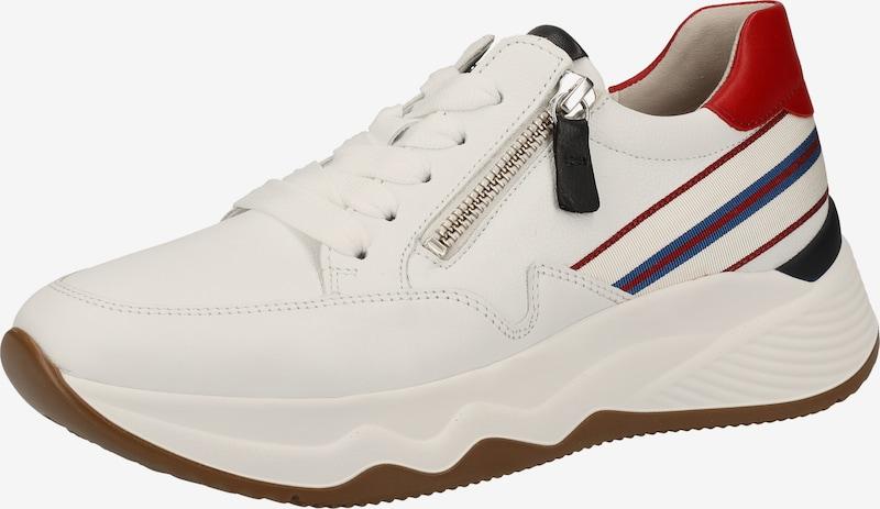 GABOR Sneakers laag in Blauw / Rood / Zwart / Wit ms2lCvhi