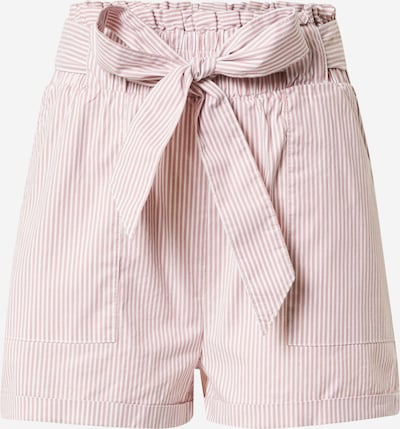 ONLY Shorts 'SMILLA' in rosé / weiß, Produktansicht