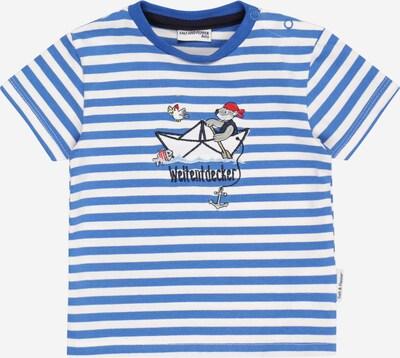 SALT AND PEPPER T-Shirt in navy / himmelblau / rot / weiß, Produktansicht