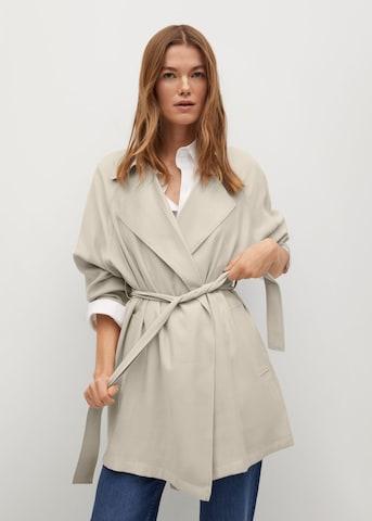 Palton de primăvară-toamnă 'Guardapo' de la MANGO pe bej