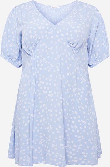 Cotton On Curve Robe 'MIRANDA' en bleu clair / blanc, Vue avec produit