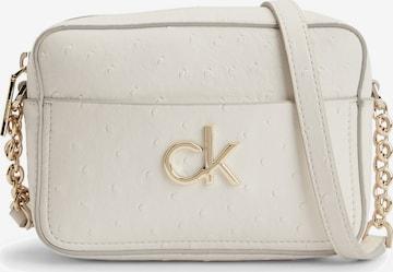 Sac à bandoulière Calvin Klein en blanc