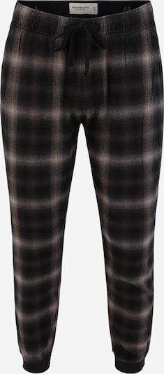 Abercrombie & Fitch Pyžamové nohavice - antracitová / sivobéžová / tmavosivá, Produkt