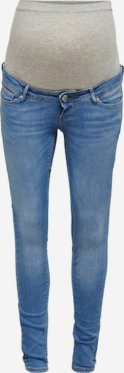 Only Maternity Jeans 'Paola' in blau / grau, Produktansicht