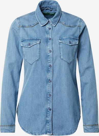 UNITED COLORS OF BENETTON Blusa en azul denim, Vista del producto