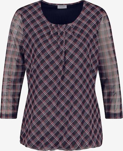 GERRY WEBER Shirt in dunkelblau / dunkelrot / weiß, Produktansicht