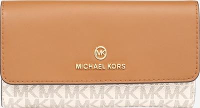 Portofel MICHAEL Michael Kors pe portocaliu / alb, Vizualizare produs