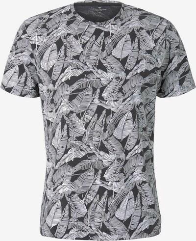 TOM TAILOR Shirt in de kleur Zwart / Wit, Productweergave