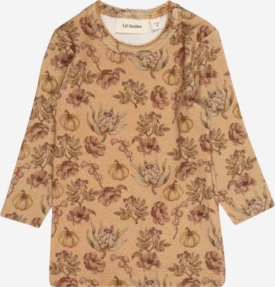 Lil ' Atelier Kids Camiseta 'GAYA' en marrón claro / mezcla de colores, Vista del producto