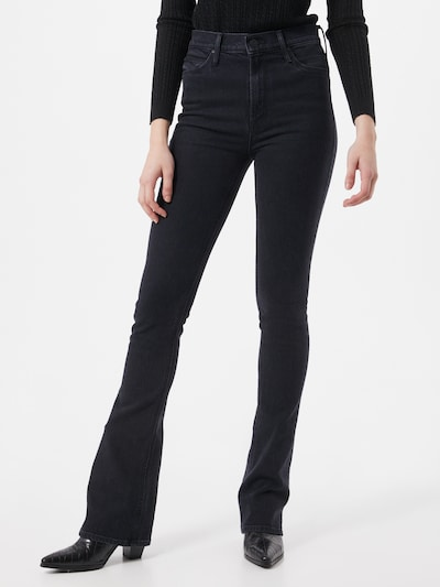 MOTHER Jeans in black denim, Modelansicht
