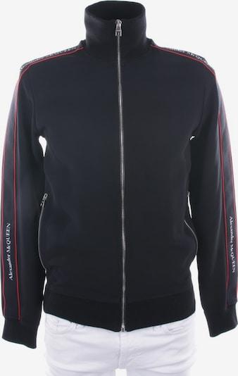Alexander McQueen Sweatjacke in S in schwarz, Produktansicht