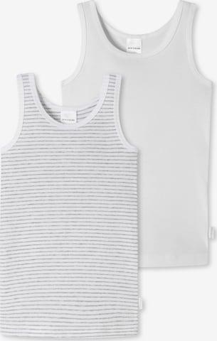 SCHIESSER Unterhemden in Weiß