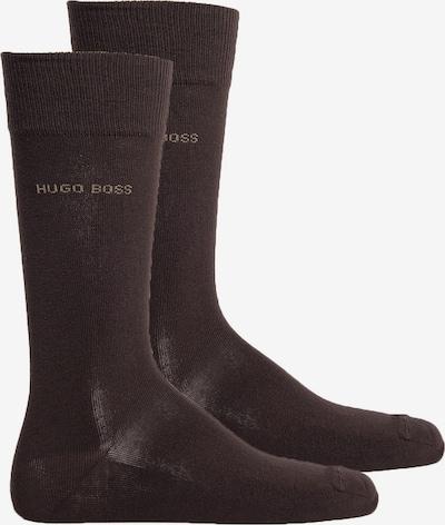 BOSS Casual Socken in dunkelbraun, Produktansicht