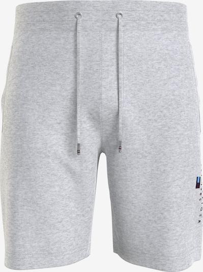 TOMMY HILFIGER Sweatshorts in dunkelblau / graumeliert / rot / weiß, Produktansicht