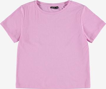 LMTD Tričko 'Nunne' - fialová