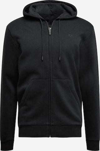 OAKLEY Sportlik trikoojakk, värv must