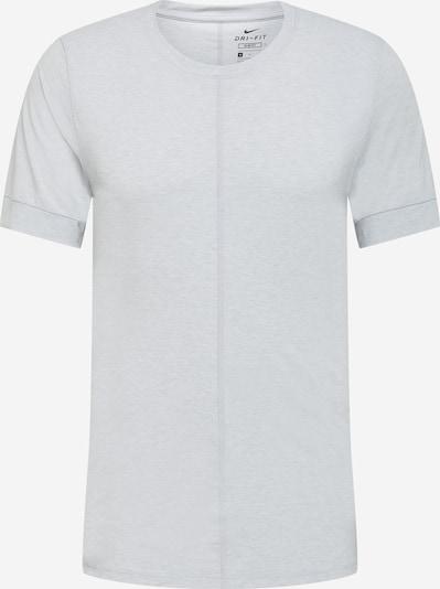 NIKE Sport-Shirt in hellgrau / schwarz, Produktansicht