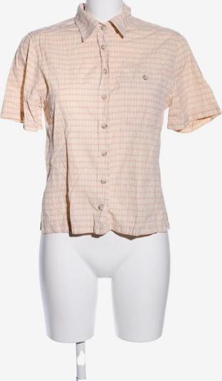 Schöffel Kurzarmhemd in S in nude / rot / weiß, Produktansicht