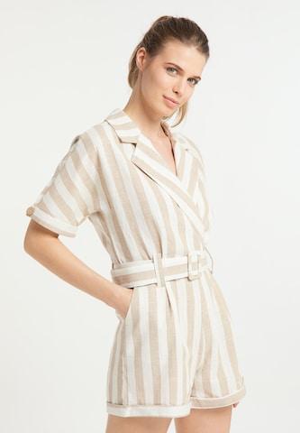 DreiMaster Vintage Jumpsuit in Weiß