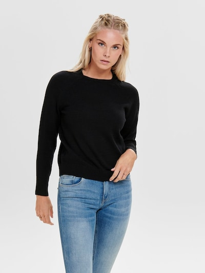 ONLY Pullover 'LESLY KINGS' in schwarz, Modelansicht