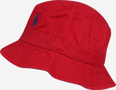 POLO RALPH LAUREN Шапка с периферия в нейви синьо / червено, Преглед на продукта