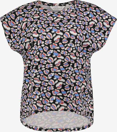 Studio Untold Shirt in royalblau / karminrot / schwarz / weiß, Produktansicht
