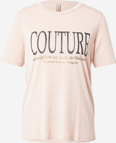 Soyaconcept T-shirt 'MARICA' i guld / antracit / rosé, Produktvy