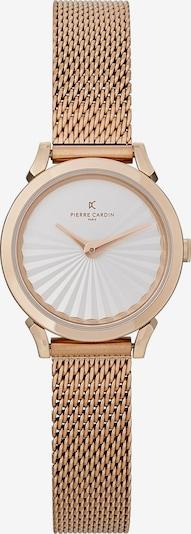 PIERRE CARDIN Uhr in rosegold / weiß, Produktansicht